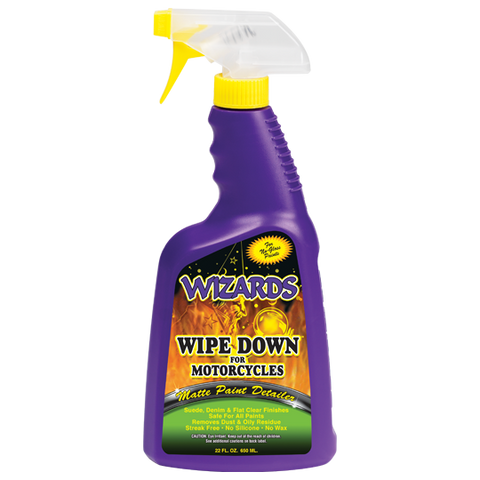 Wizards Wipedown Matte Paint Detailer