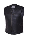 Premium Zippered Vest Mens