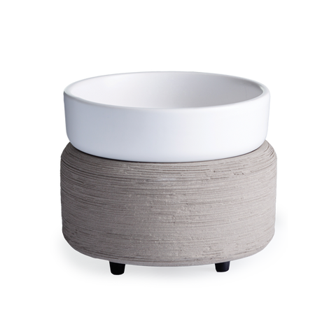 2-In-1 Fragrance Warmer Wickless Candle