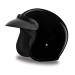Cruiser Helmet Smallest DOT 3/4 Single Color - Web only