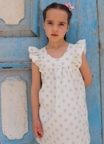 Pilton Polka Dot Flower Girl Dress