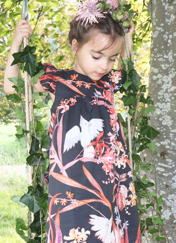 Chew Stoke Chinoiserie Dress