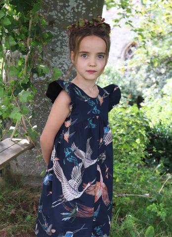 Combe Hay Chinoiserie Dress