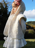 Priston Pom Pom Plush Gilet