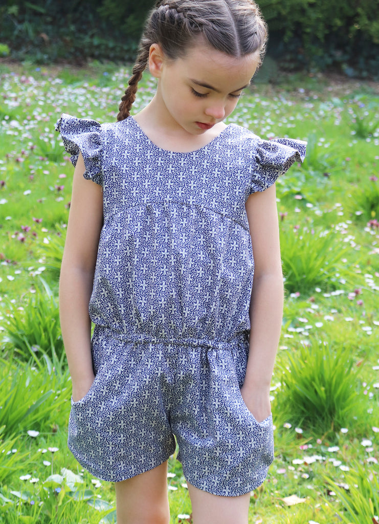 Pilton Indigo Playsuit