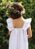 Friary Flower Girl Cutwork Dress