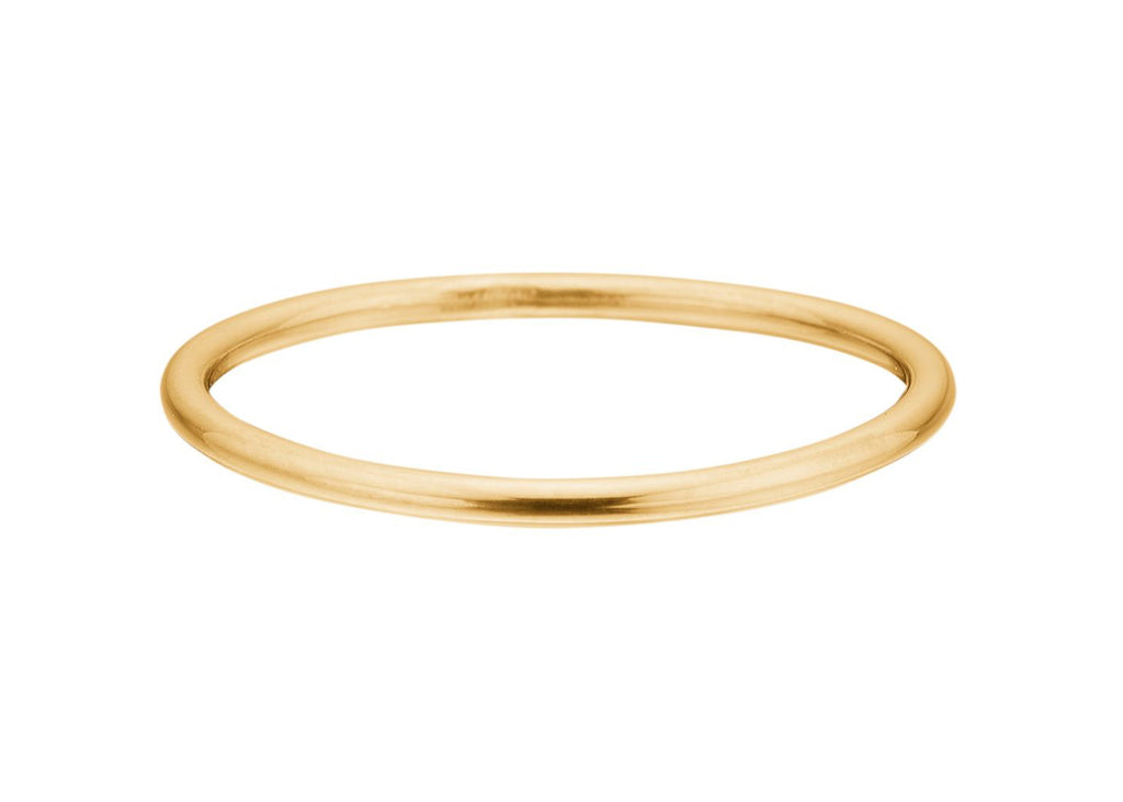 Enamel Simple Ring / Guld