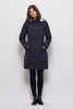 Froks Teddy Winter Parka Jakke / Dusty navy water resistant cotton