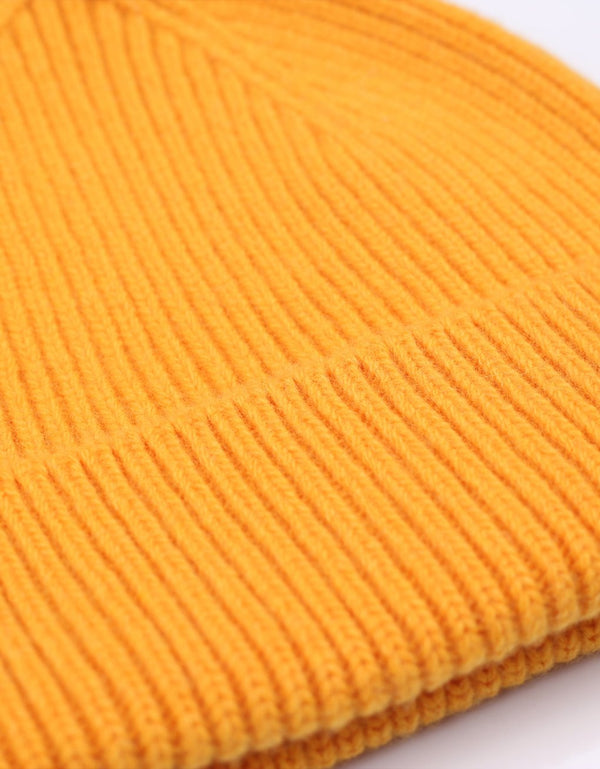 Colorful Standard Merino Wool Beanie / Burned yellow