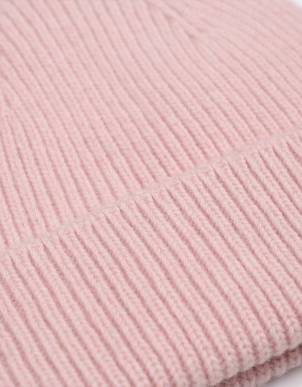 Colorful Standard Merino Wool Beanie / Faded pink