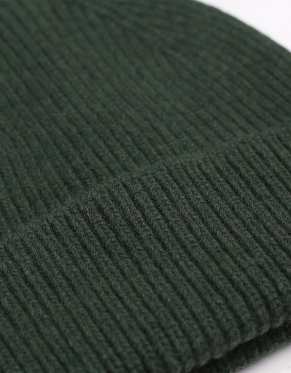 Colorful Standard Merino Wool Beanie / Hunter green