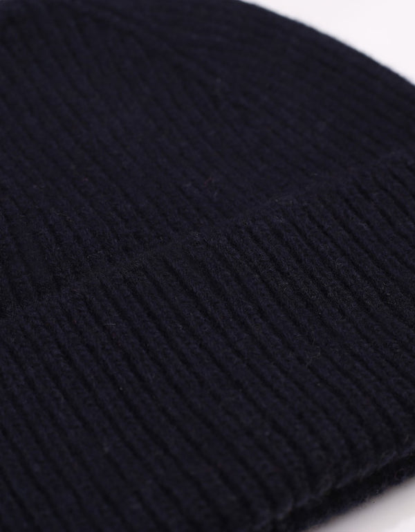 Colorful Standard Merino Wool Beanie / Navy blue