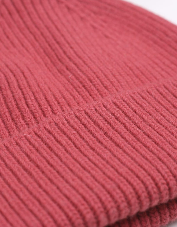Colorful Standard Merino Wool Beanie / Raspberry pink