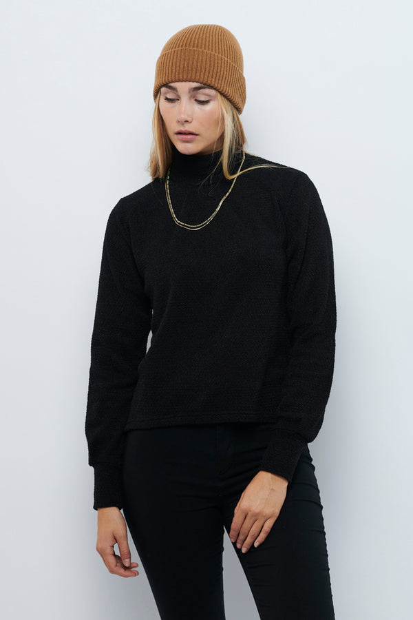 Second Arrival Fleur Sweater / Black knit