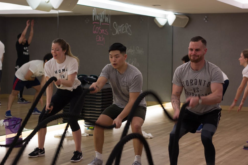 Ropes and Rowers Class at Equinox Bay Street