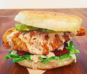 ALABAMA WHITE BBQ CHICKEN SANDWICH