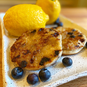Lemon-Blueberry English Muffin