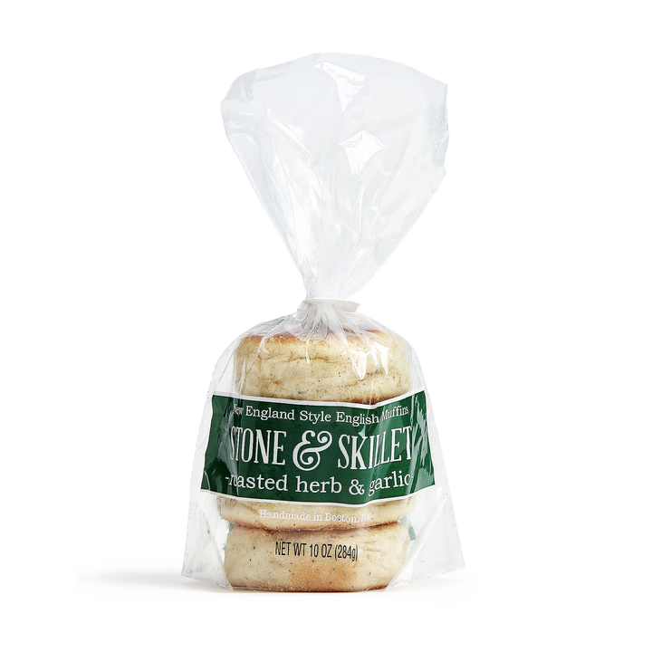 Savory Herb & Roasted Garlic 16 muffins (4 packs)
