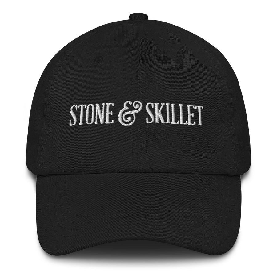 Stone & Skillet Dad Hat, White Logo (Various Colors)