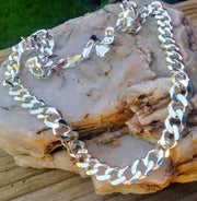 Curb Chain Necklace | 925 Sterling Silver Chains for Men