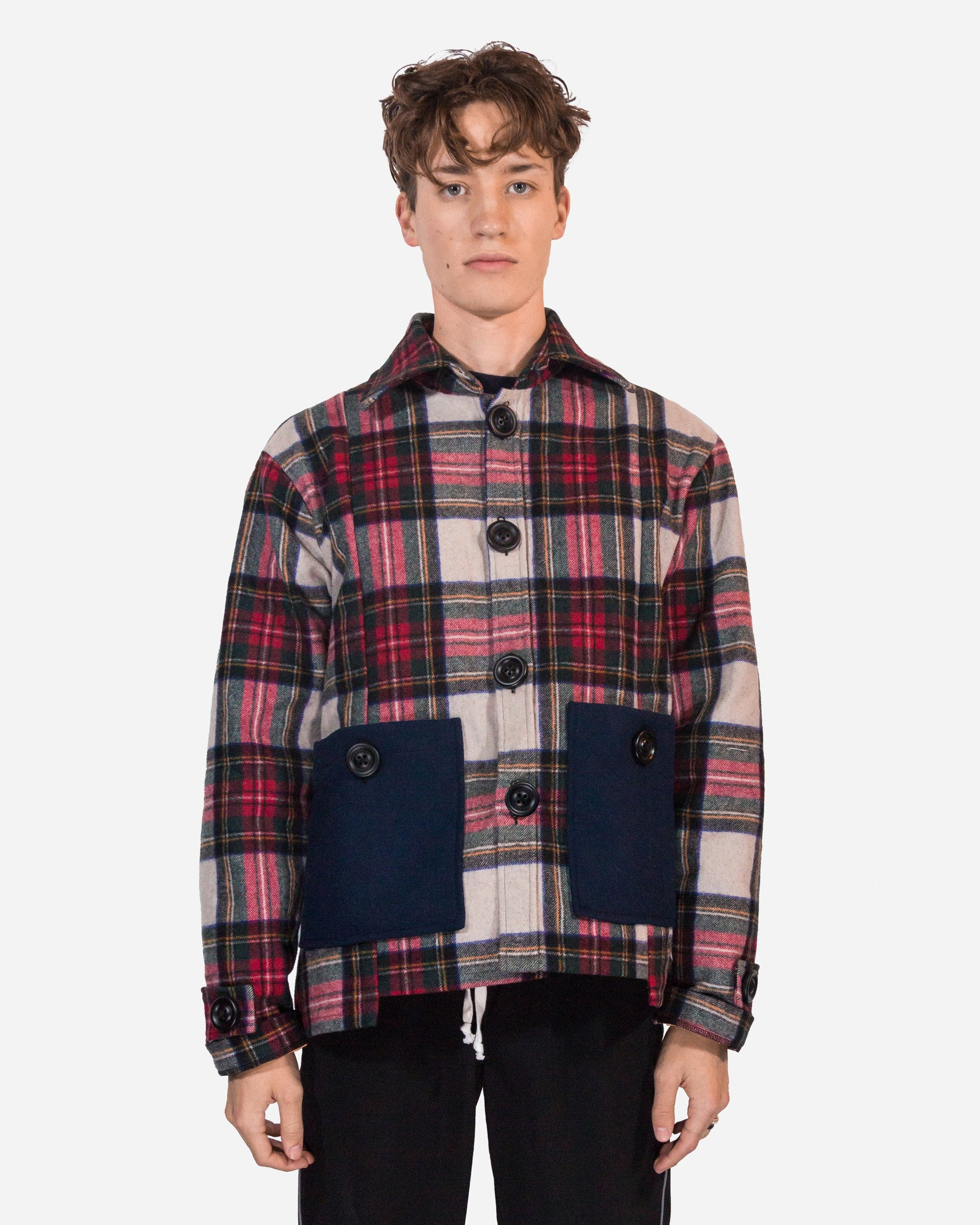 FLANNEL WORK COAT