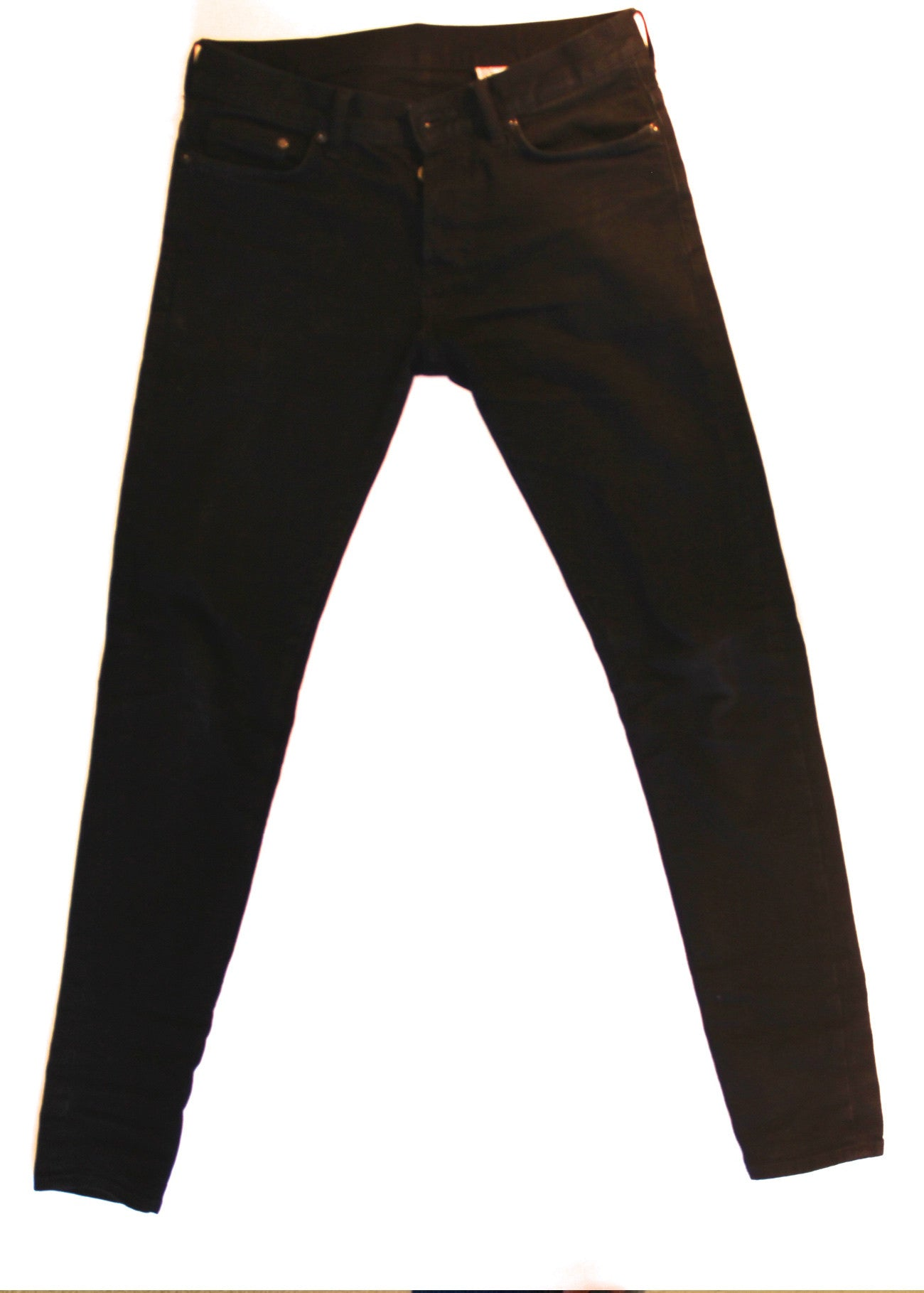 Black Tapered Denim