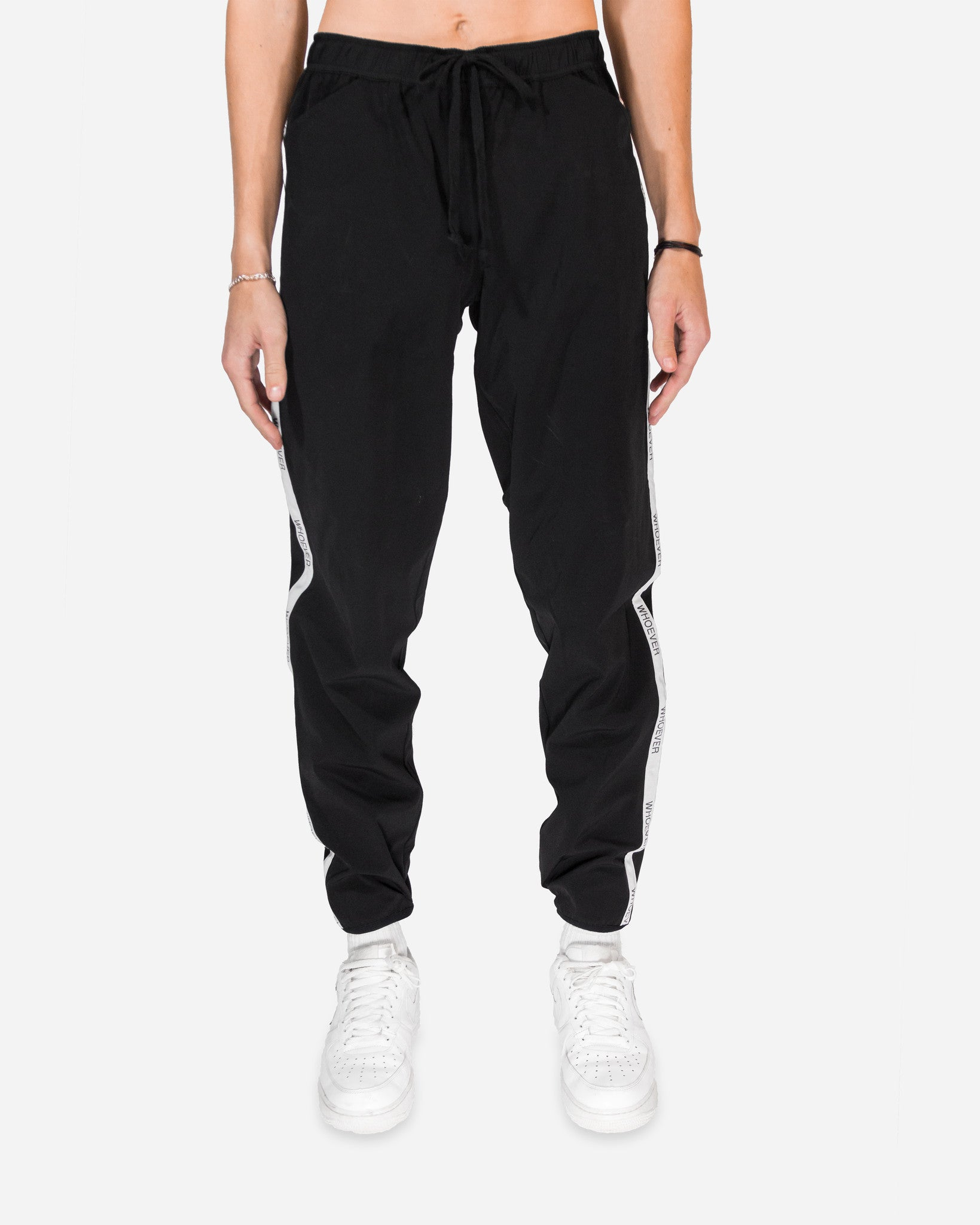 STRIPED LOGO PANT