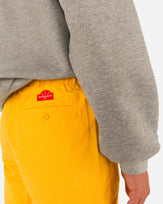 YELLOW WORK SHORT