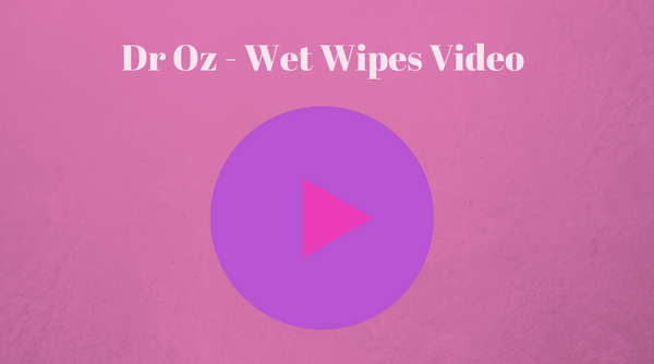 dr oz wet wipes waste treatment plant video