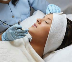 remove unwanted facial hair with electrolysis