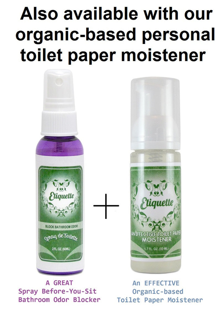 Spray De Toilette Bathroom Deodorizer Air Freshener Etiquette - Bathroom odor spray