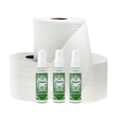 Etiquette Toilet Paper Moistener [Pack of Three - 2.0 oz] - Etiquette - 1