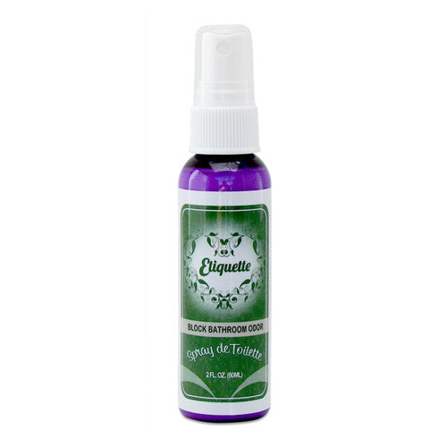 Spray de Toilette - Before You Sit Bathroom Odor Blocker & Deodorizer