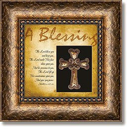 A Blessing Numbers :- Framed Wall Art