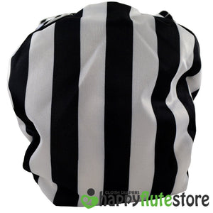 Happy Flute All in One Charcoal Bamboo Cloth Diaper - Beetlejuice (back)
