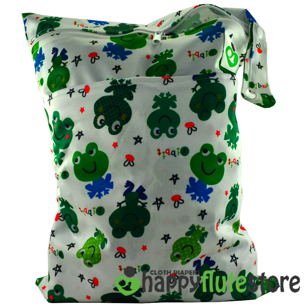 Happy Flute On The Go Wetbag- Frogs
