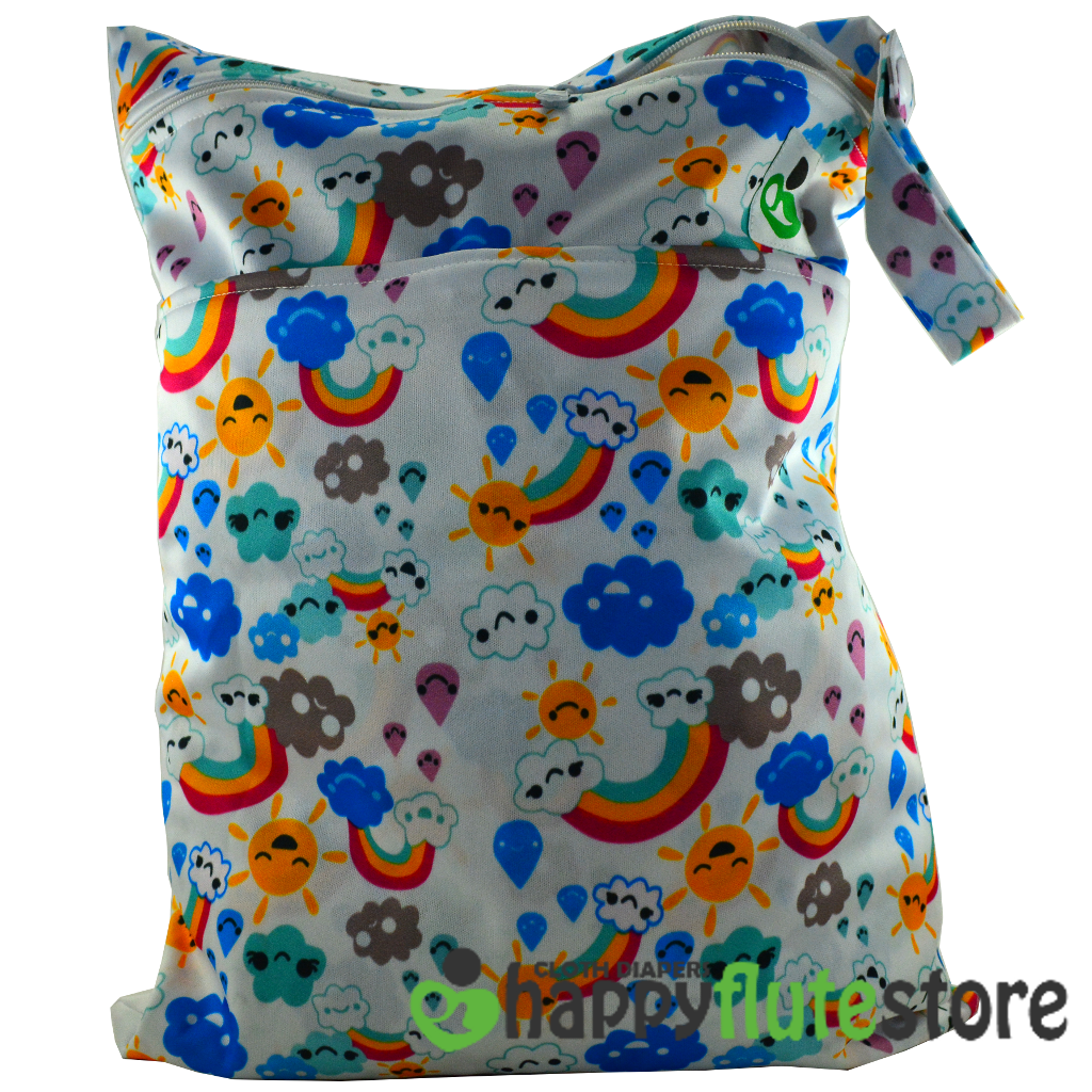 Happy Flute On The Go Wetbag- Rainbow