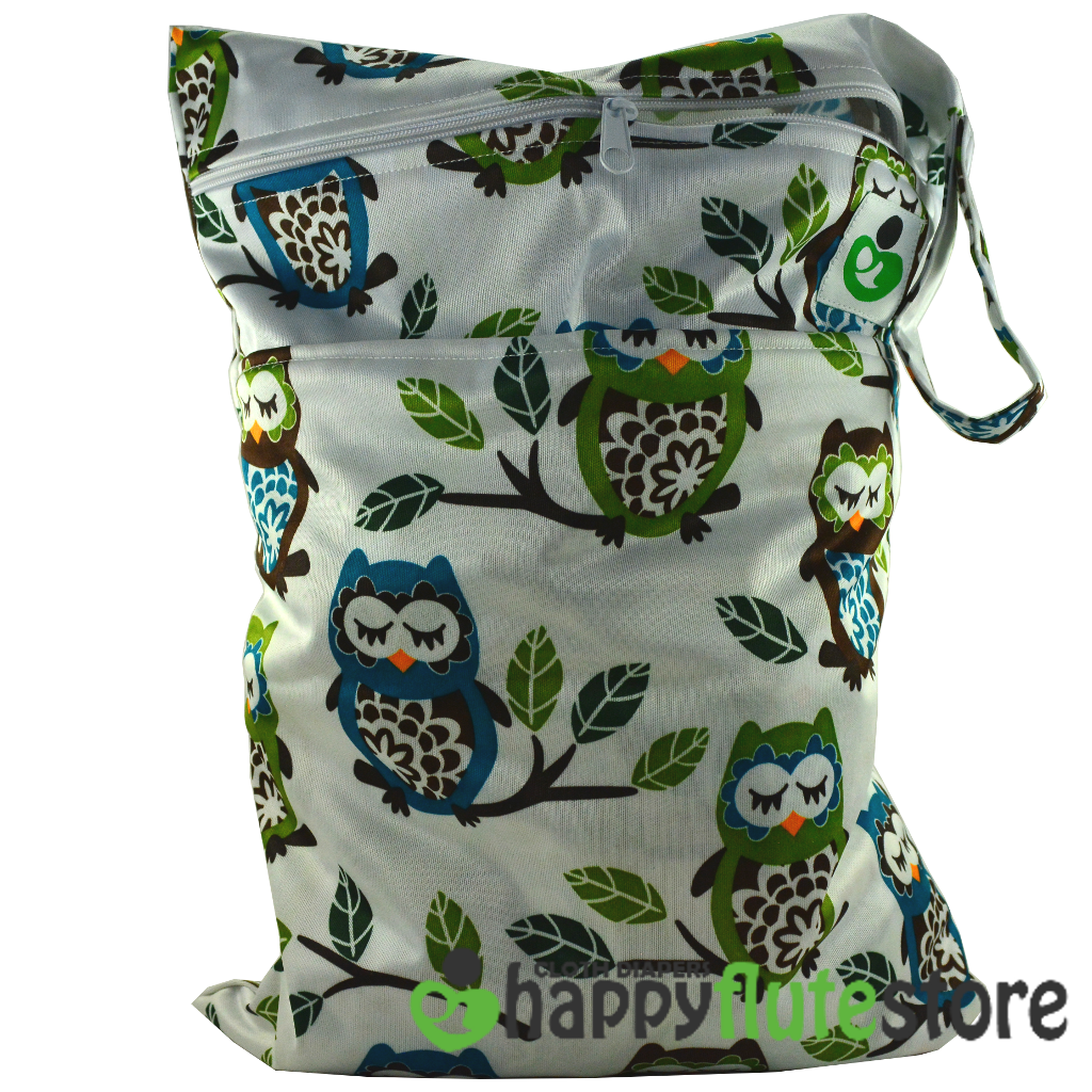 Happy Flute On The Go Wetbag- Sleeping Owls
