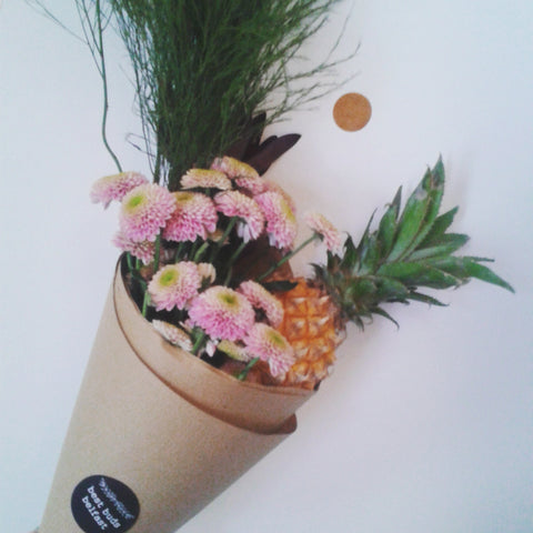 Mini Pineapple Posy
