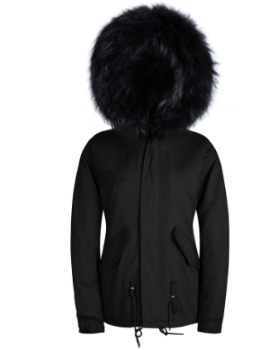 Una Raccoon Fur Parka