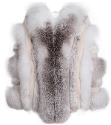 Alaia Fox Fur Coat