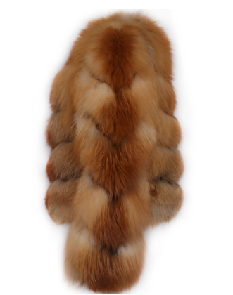 Brooklyn Fox Fur Coat