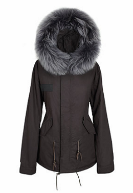 Umberto Raccoon Fur Parka