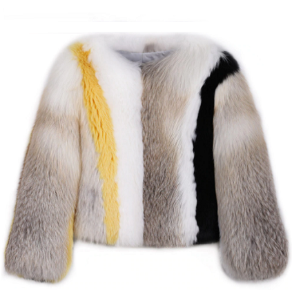 Ashley Fox Fur Coat