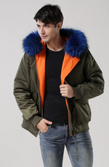 Mens Reversible Bomber