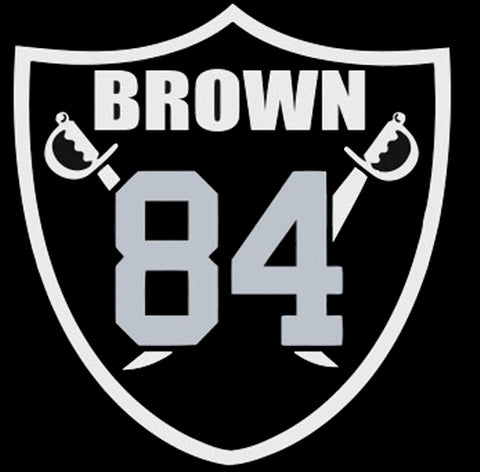Oakland Brown 84 Logo Shirt