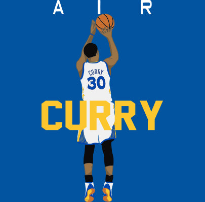 "Golden State Curry ""Air Pic"" Shirt"