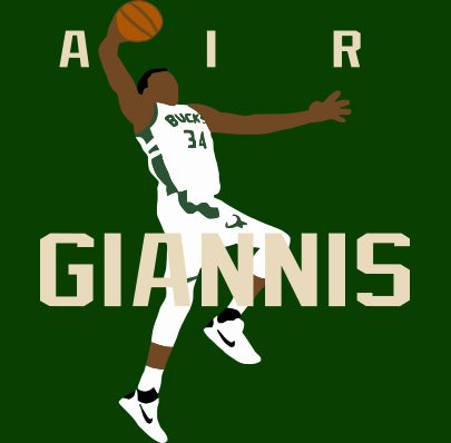 "Milwaukee Greek Freak ""AIR"" Shirt"