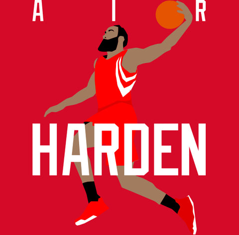 "Houston Harden ""AIR"" Shirt"