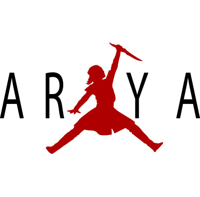White Arya Stark GOT Air Shirt